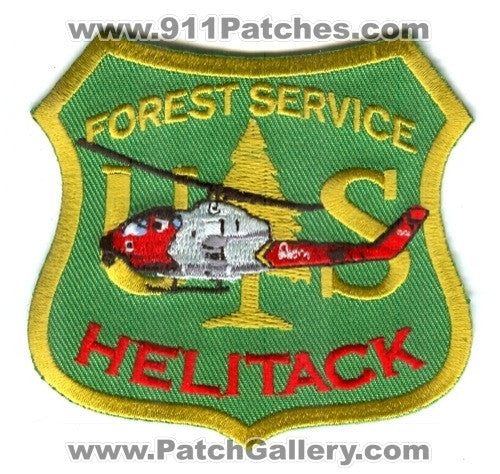 United States Forest Service USFS Helitack Forest Wildfire Wildland Patch Washington DC
