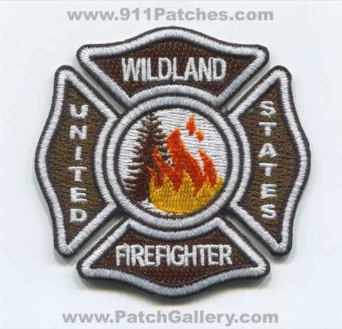 United States Wildland Firefighter Forest Fire Wildfire Patch Arizona AZ