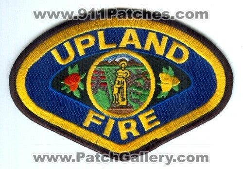 Upland Fire Department Patch California CA