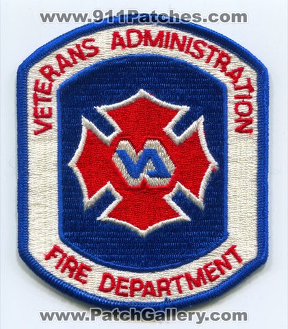 Veterans Administration VA Fire Department Patch No State Affiliation