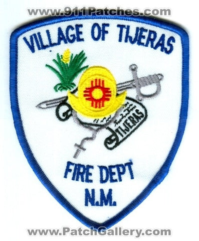 Village of Tijeras Fire Department Patch New Mexico NM