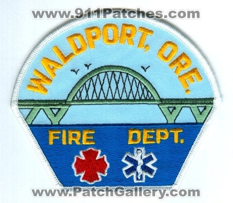 Waldport Fire Department Patch Oregon OR