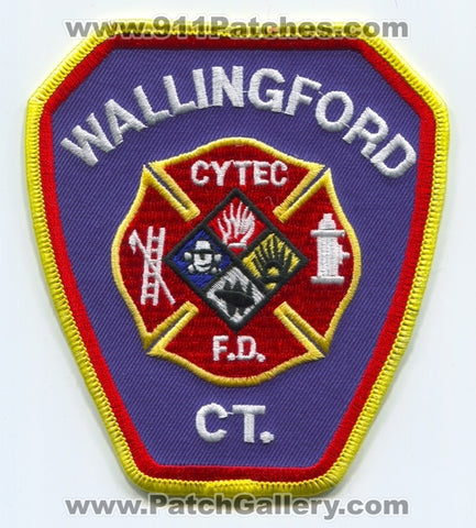 Wallingford Fire Department CYTEC Industries Inc Patch Connecticut CT