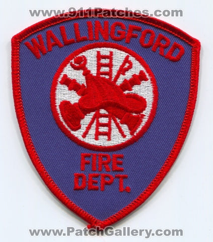 Wallingford Fire Department Patch Connecticut CT