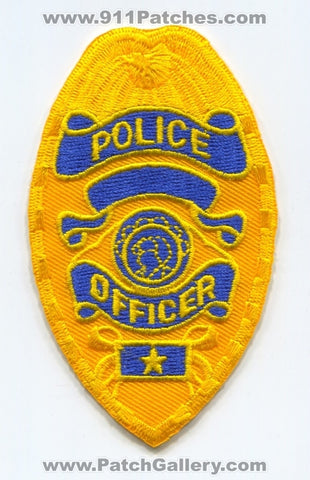 Police Department Officer Patch Washington WA