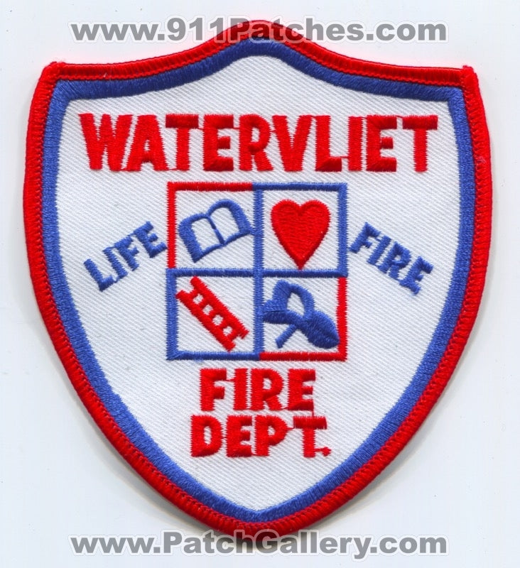 Watervliet Fire Department Patch New York NY