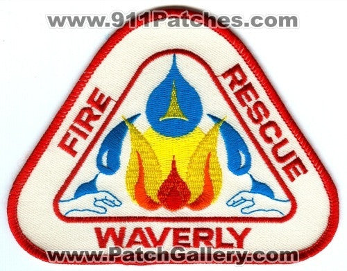 Waverly Fire Rescue Department Patch Unknown State