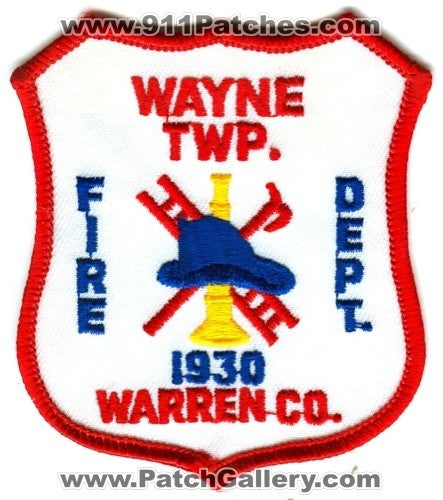 Wayne Township Fire Department Warren County Patch Pennsylvania PA