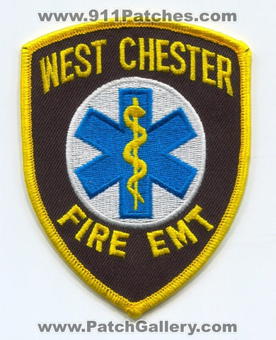 West Chester Fire Department EMT Patch Pennsylvania PA