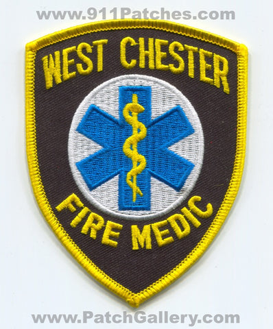 West Chester Fire Department Medic Patch Pennsylvania PA