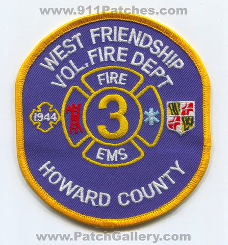 West Friendship Volunteer Fire Department 3 Howard County Patch Maryland MD