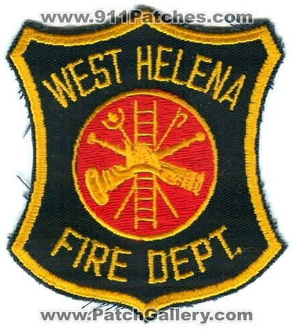 West Helena Fire Department Patch Arkansas AR