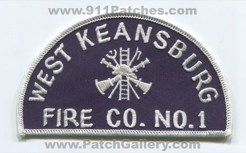 West Keansburg Fire Company Number 1 Patch New Jersey NJ