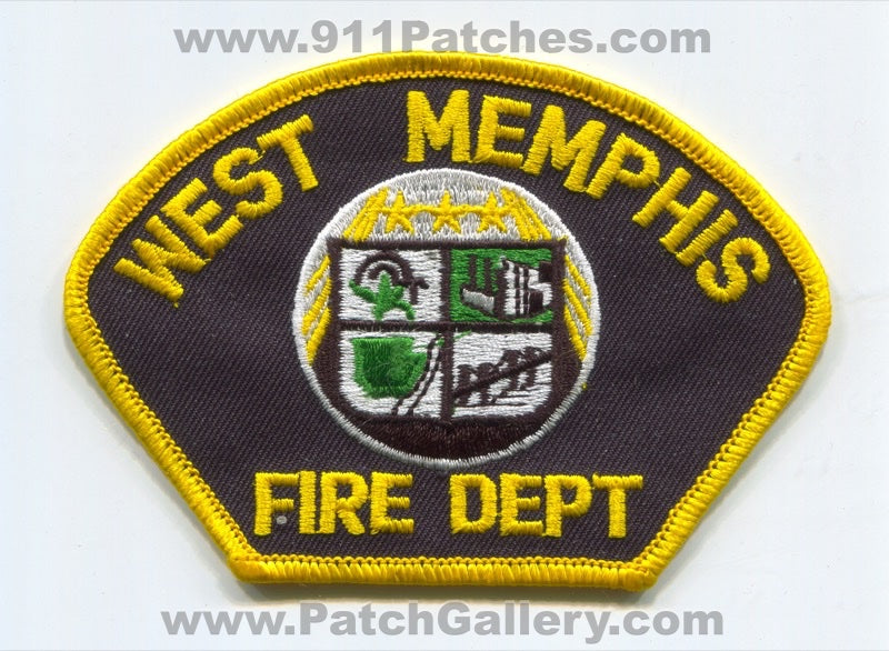 West Memphis Fire Department Patch Arkansas AR