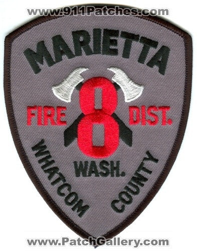 Whatcom County Fire District 8 Marietta Patch Washington WA