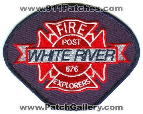 White River Fire Explorers Post 576 Patch Washington WA