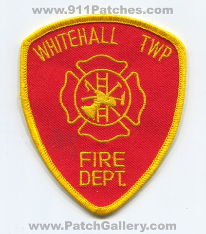 Whitehall Township Fire Department Patch Pennsylvania PA
