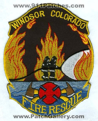 Windsor Fire Rescue Department Patch Colorado CO