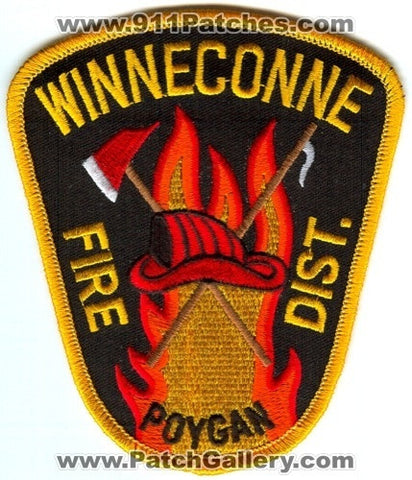 Winneconne Poygan Fire District Patch Wisconsin WI