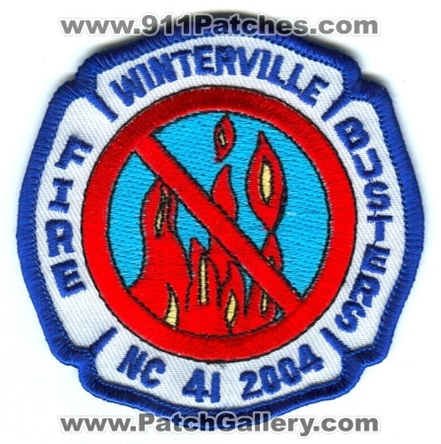 Winterville Fire Busters Patch North Carolina NC