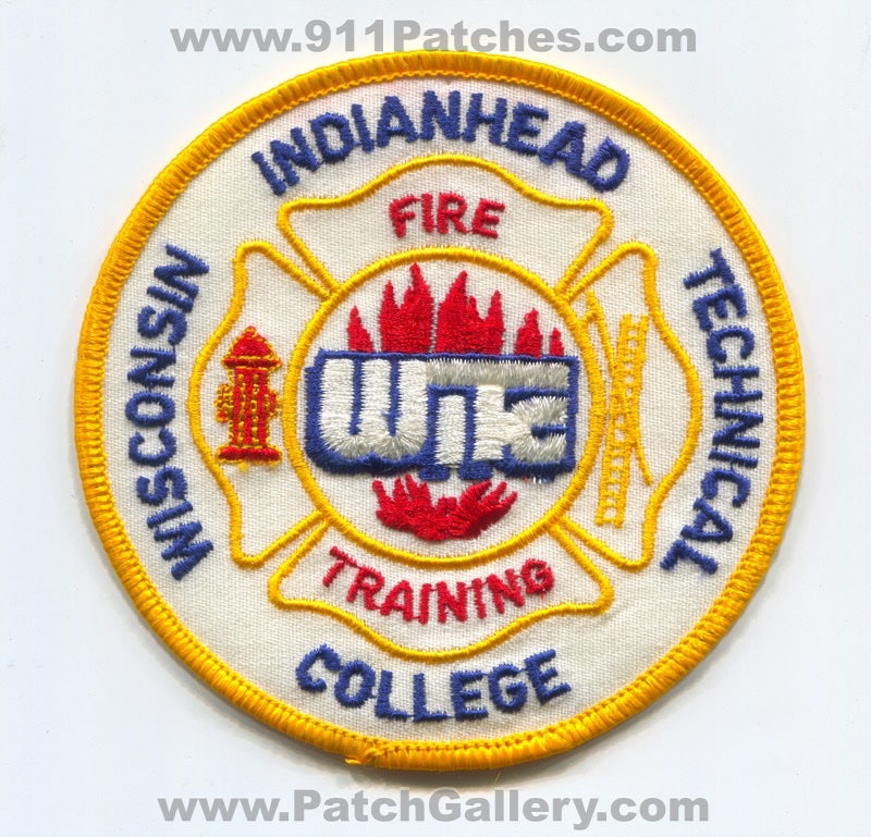 Wisconsin Indianhead Technical College WITC Fire Training Patch Wisconsin WI
