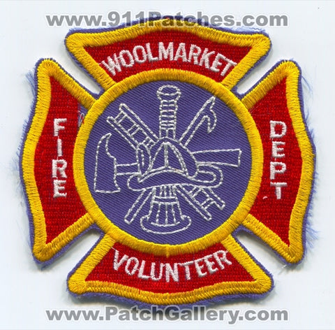 Woolmarket Volunteer Fire Department Patch Mississippi MS