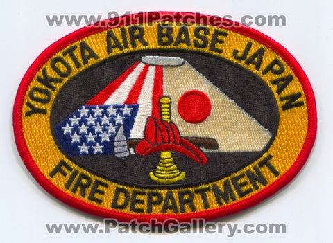 Japan - Yakota Air Base Fire Department Patch