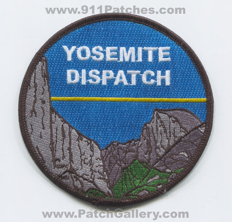 Yosemite National Park Fire Safety Rangers Patch California CA