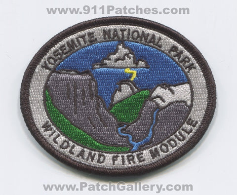 Yosemite National Park Wildland Fire Module Forest Wildfire Patch California CA