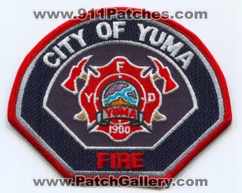 Yuma Fire Department Patch Arizona AZ
