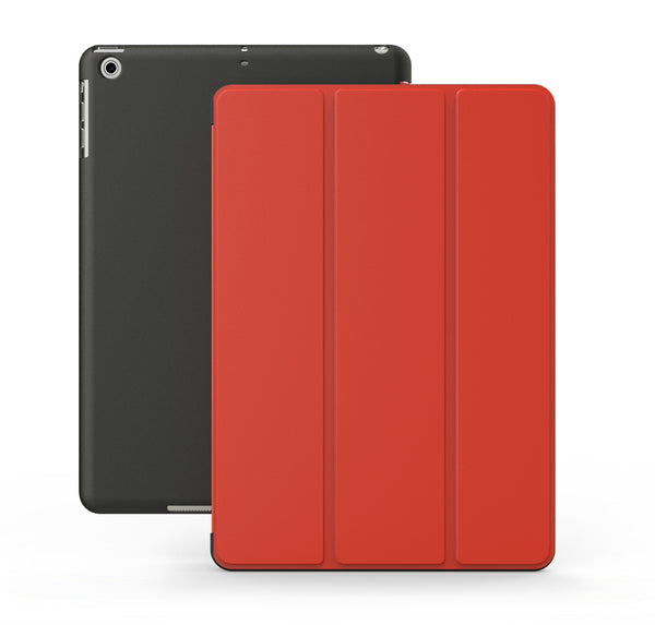 iPad 9.7 2017 & 2018 Dual Red Black Case