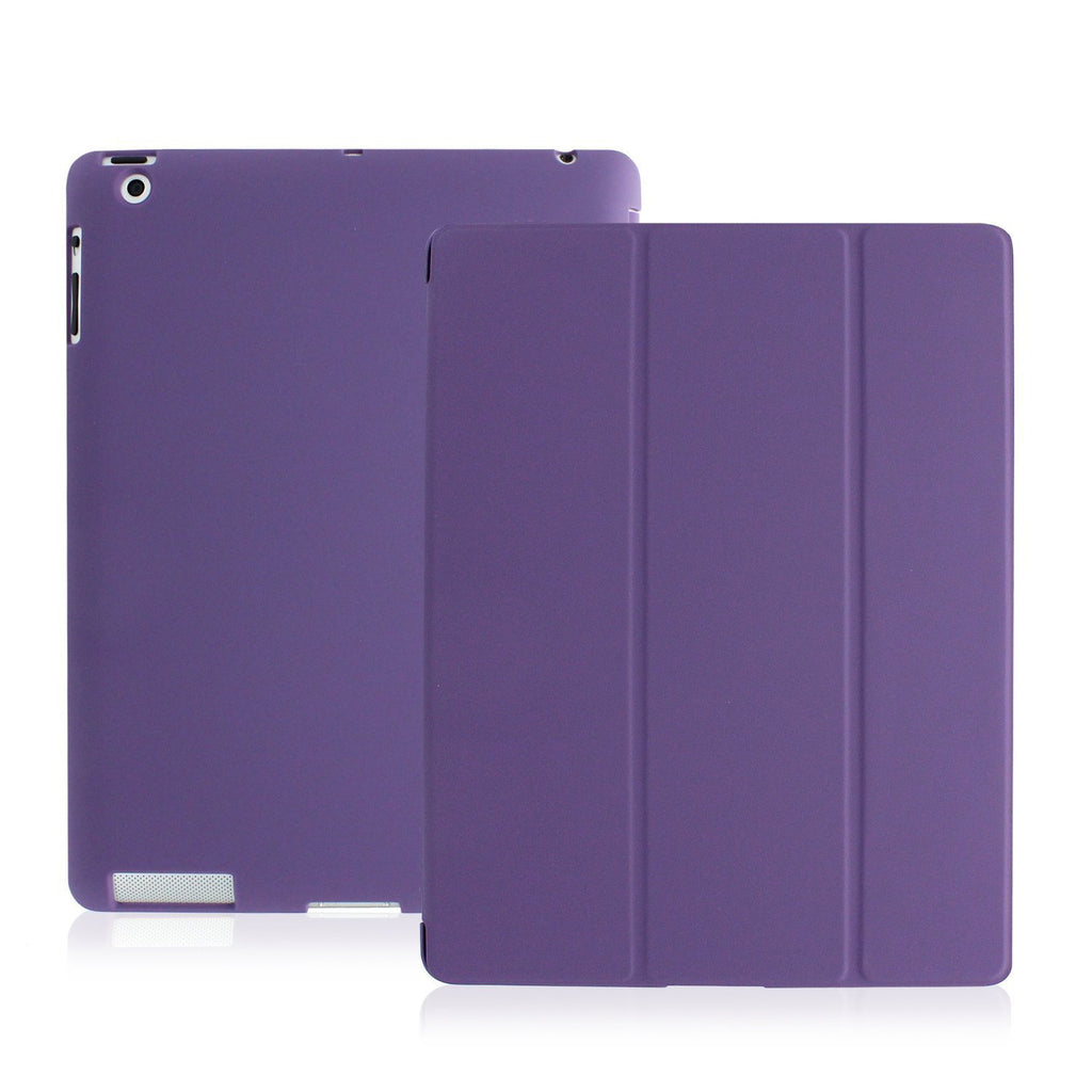iPad 2/3/4/Retina Dual Purple Case