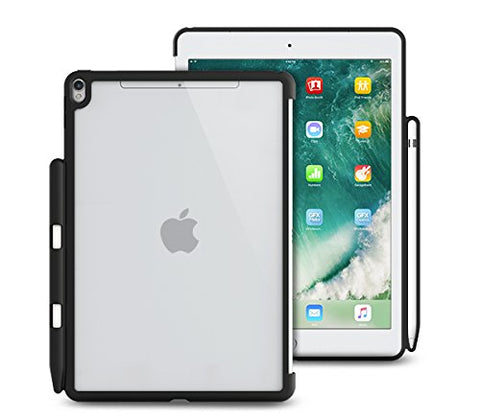 iPad Air 3 10.5 (2019) / iPad Pro 10.5 (2017) Back Cover WITH Pen Holder - Back Pen Hybrid Clear