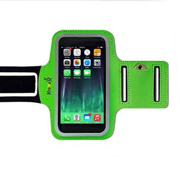 iPhone XS MAX, 8 Plus, 7 Plus, 6/6 PLUS- Sports Armband Green