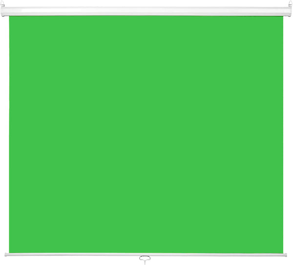 Collapsible Pull-Down Green Screen