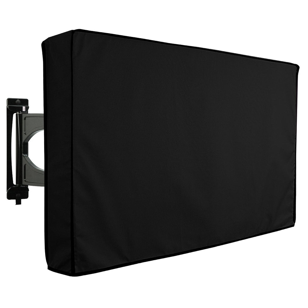 Outdoor TV Cover - Universal Waterproof Protector for 22 to 24 - Black