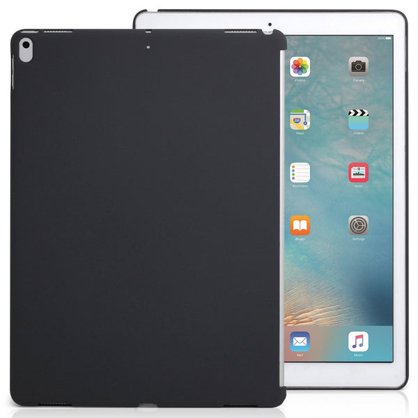 iPad Pro 12.9 2017 Companion Cover Case - Perfect match for Apple Smart keyboard and Cover - Charcoal Gray