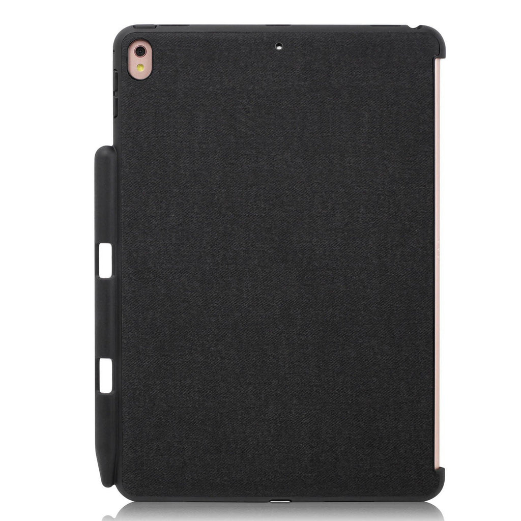 iPad PRO 10.5 Inch 2017 Back Cover WITH Pen Holder - Back Pen Charcoal Grey