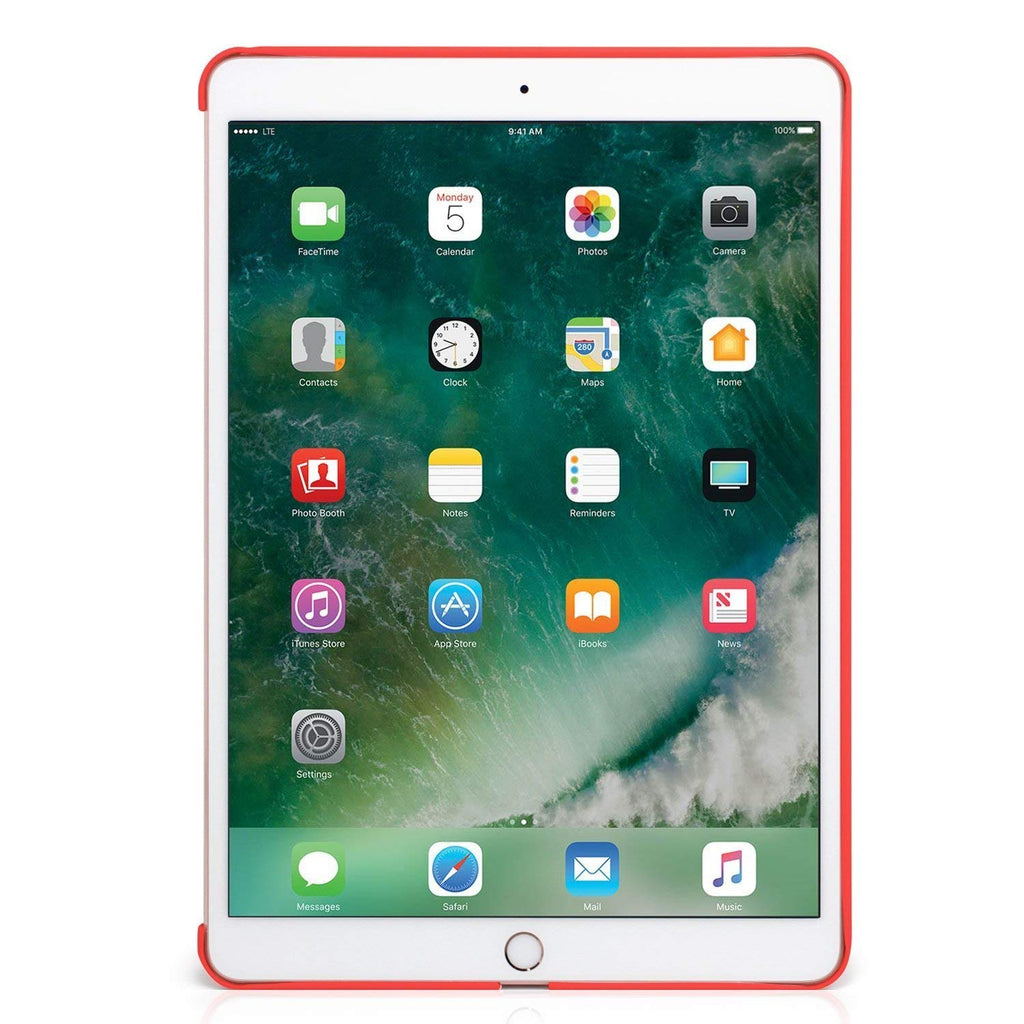 iPad 9.7 2017 & 2018 Inch Back Cover - Companion Cover - Red