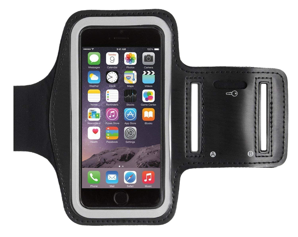 iPhone Armband XS MAX, 8 Plus, 7 Plus, 6/6 PLUS - Sports Armband Black