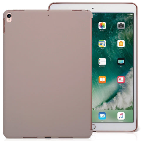iPad Air 3 10.5 (2019) / iPad Pro 10.5 (2017) Companion Cover Case - Perfect match for Apple Smart keyboard and Cover - Stone