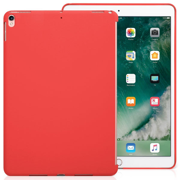 iPad Air 3 10.5 (2019) / iPad Pro 10.5 (2017) Companion Cover Case - Perfect match for Apple Smart keyboard and Cover - Red