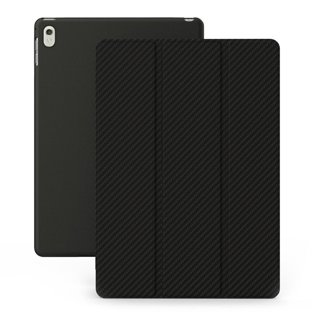 iPad PRO 12.9 2 / 2nd (2017) Dual Carbon Fiber Black Case