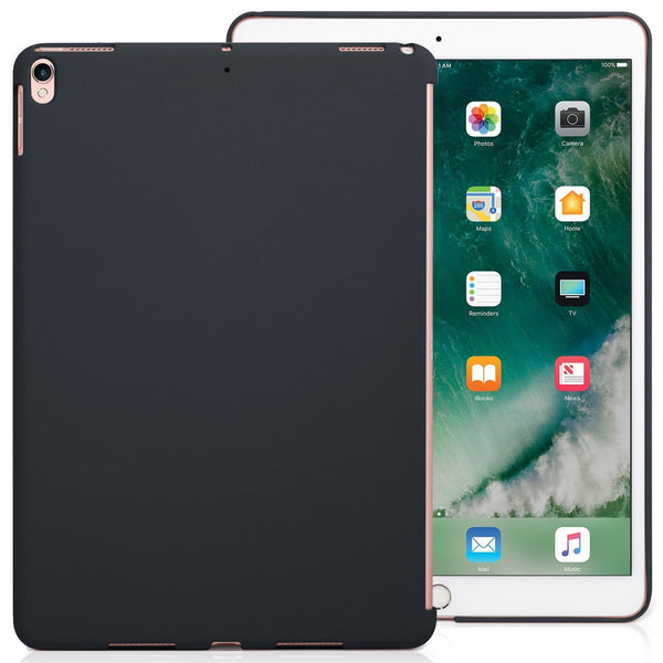 iPad Air 3 10.5 (2019) / iPad Pro 10.5 (2017) Companion Cover Case - Perfect match for Apple Smart keyboard and Cover - Charcoal Gray