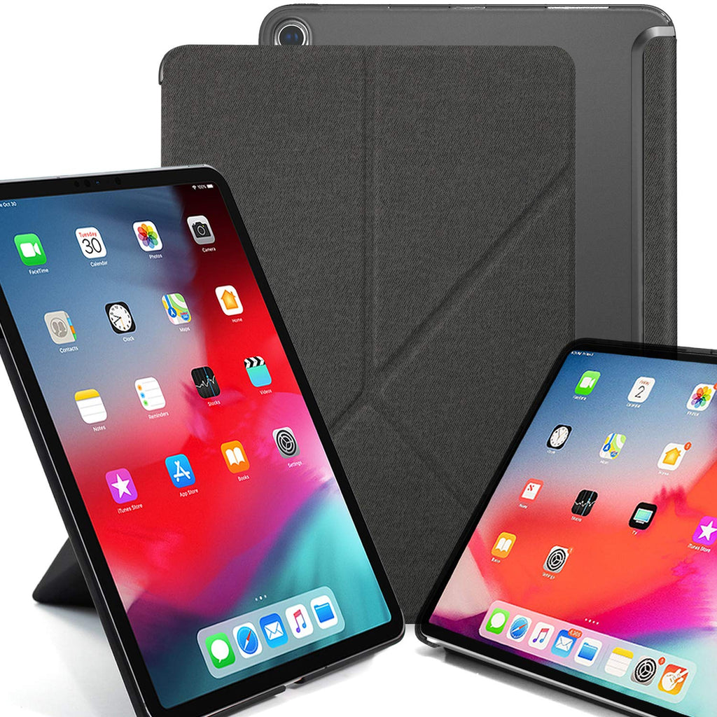 iPad Pro 11 - Origami See-Through - Twill Grey
