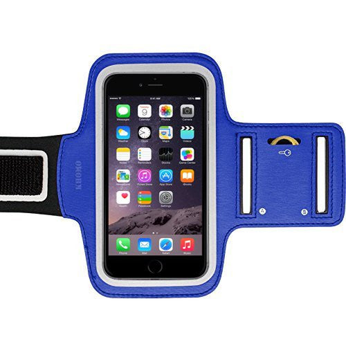 iPhone XS, X, 8, 7, 6/6S - Sports Armband Blue