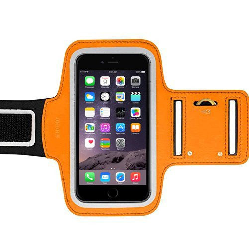 iPhone XS, X, 8, 7, 6/6S - Sports Armband Orange