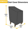 Stackable Chair Cover - Titan Grey