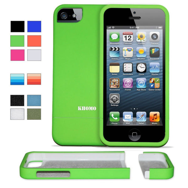 iPhone 5 / 5S - Green Slider