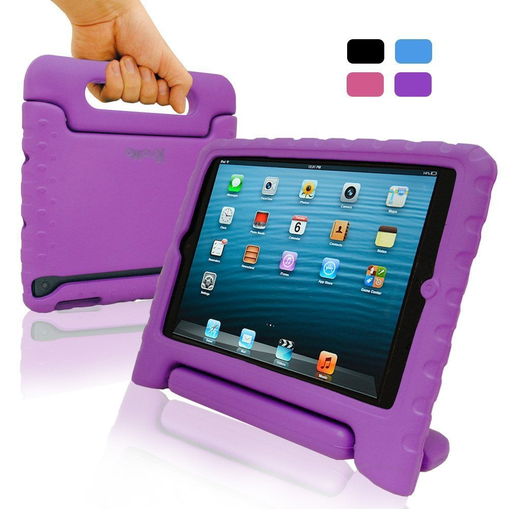 iPad 9.7 2017 & 2018 SAFEKIDS Case - Purple